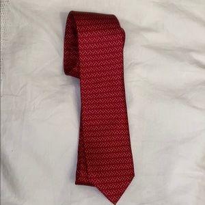 NWOT vibrant red tie
